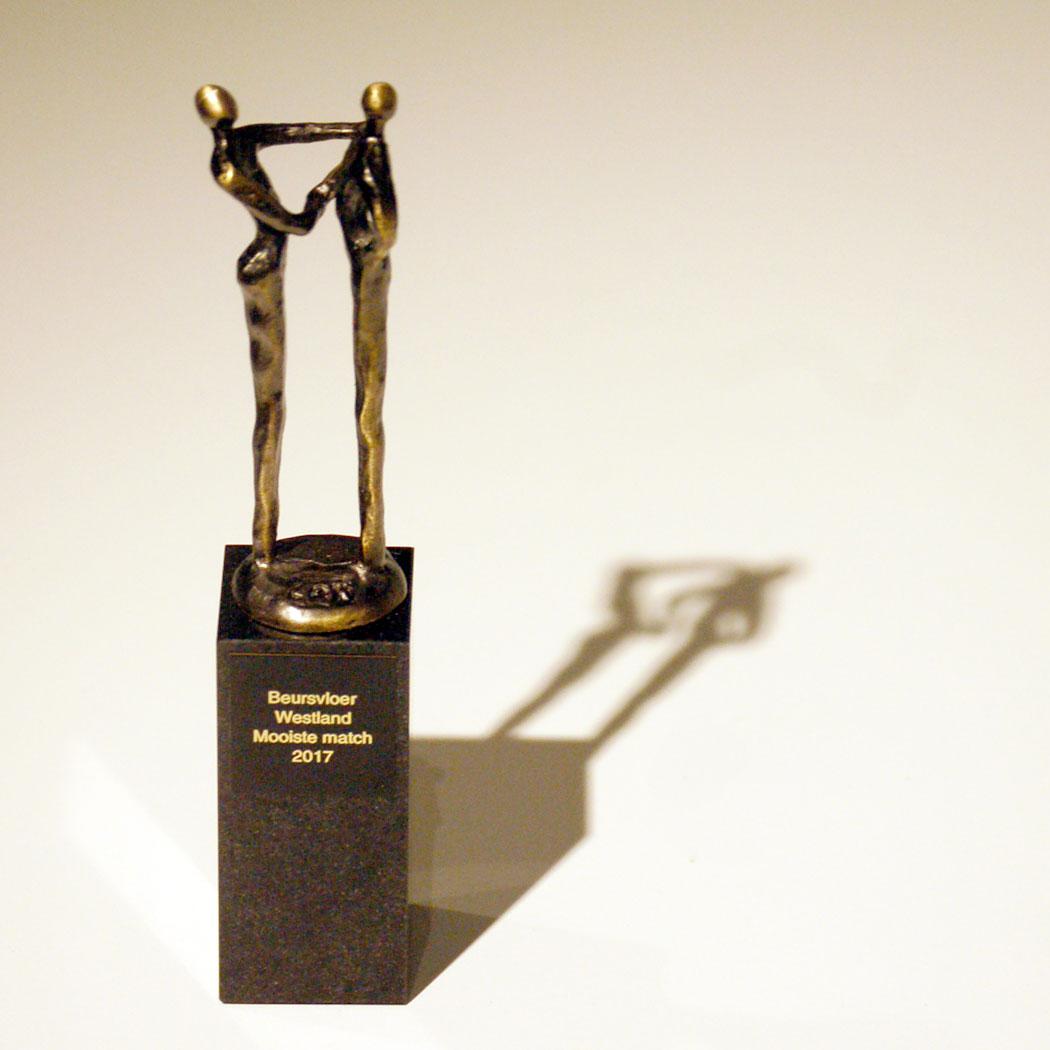 Prijs Beursvloer Westland Mooiste Match met o.a. Mieke Duindam Interior Design