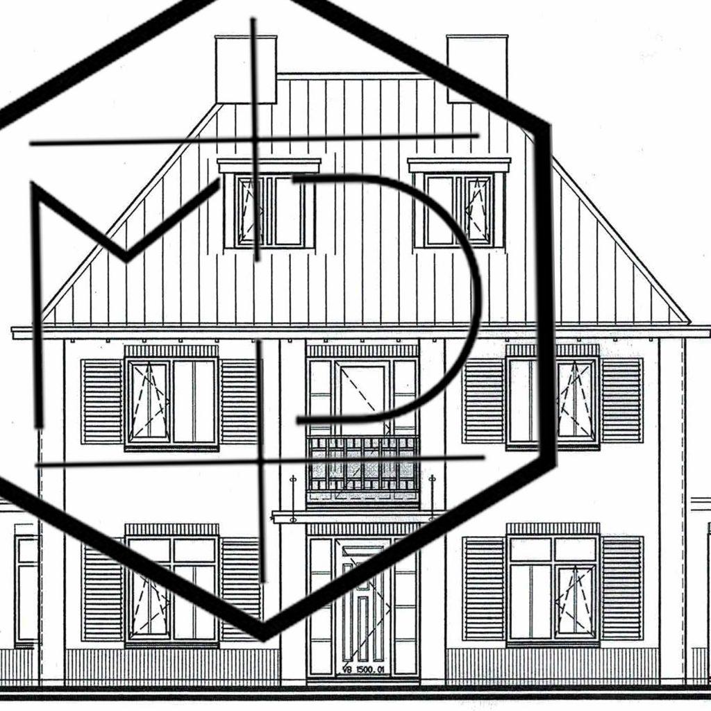 3D ontwerp vrijstaande Woning Rotterdam